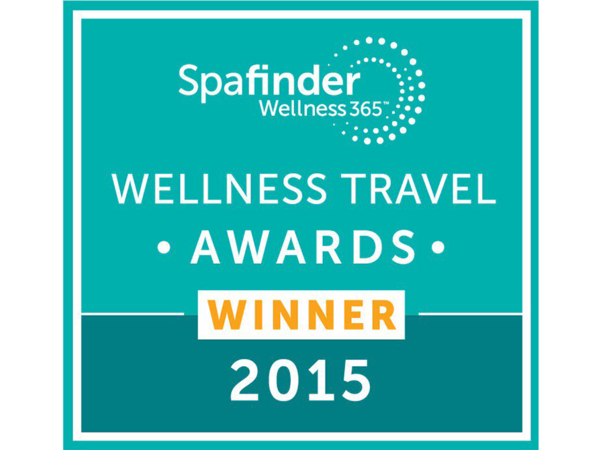 Auszeichnung 'Wellness Travel Awards Winner 2015'