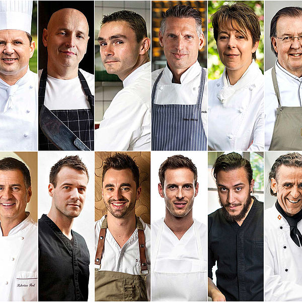 16 Starchefs, 261 Punkte! Die GaultMillau Garden Party im Grand Resort Bad Ragaz