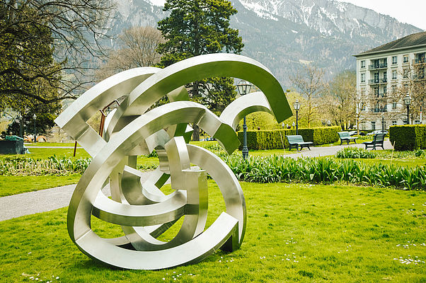 Bad RagARTz: Europe's biggest open-air sculpture exhibition starts for the seventh time in Bad Ragaz