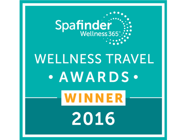 Auszeichnung 'Wellness Travel Awards Winner 2016'